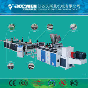 PVC Tuiles trapézoïdal Machine/Machine/le toit de tuiles d'onde Making Machine