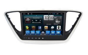 Sistema stereo di Sat Nav della doppia automobile di BACCANO per Hyundai Verna 2017