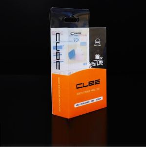 移動式力PVC透過印刷のまめの包装ボックス