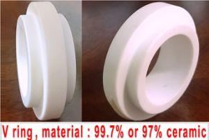 El manguito del eje de cerámica y el asiento, sello mecánico de los anillos de fricción se enfrenta a