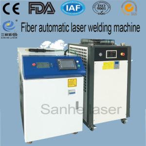 macchina automatica della saldatura a punti della fibra 500W per il tasto del telefono della coltelleria