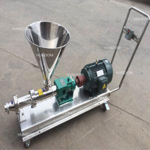Mesures sanitaires de qualité alimentaire de la pompe à vis unique pour les eaux usées ou de lotion