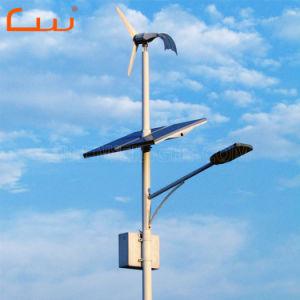自動60W LEDの風太陽ランプの旧式な街灯