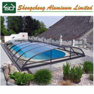 Het Dak van het Zwembad van het Dak van het Polycarbonaat van de Structuur van het aluminium