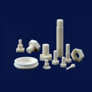 Vite di testa Hex di ceramica della vite dell'allumina termoresistente lavorabile alla macchina del Rod