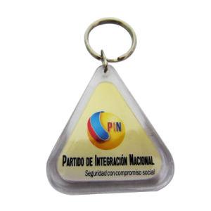 Bisutería Acrylic logotipo impreso Foto Llavero (057)