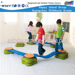 De plastic Reeksen van de Speelplaats van de Brug van Kinderen enig-Lege (HF-21906)