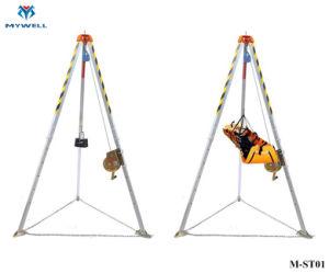 Treppiedi di alluminio di risparmio di vita di salvataggio del vigile del fuoco di alta qualità M-St01
