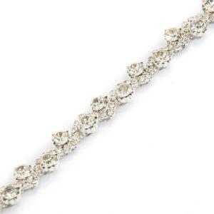 Venta caliente de metal de aleación de frenar la cadena para la prenda de vestir y calzado/bolsa/pantalones