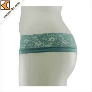 171005uw- Personalizado Nylon transparente sexy señoras bragas tientos