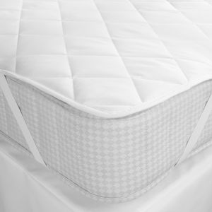 寝具の麻布のためのキルトにされた化学繊維のホテルのマットレスのカバーの保護装置