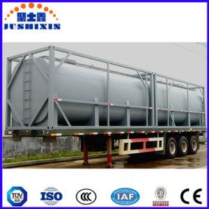 20FTの40FT化学腐食性の液体の記憶フレームシャーシISOタンク容器