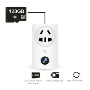 小型IRの機密保護の無線ソケットIPのCCTVによって隠されるカメラ