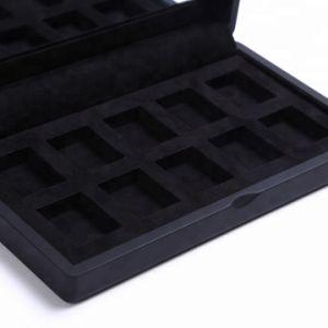 도매 호화스러운 나무로 되는 속눈섭 미러를 가진 장식용 상자 메이크업 상자