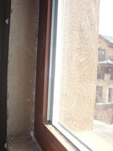 현대 작풍 Akp55-Aw04 외부적인 오프닝 알루미늄 여닫이 창 Windows