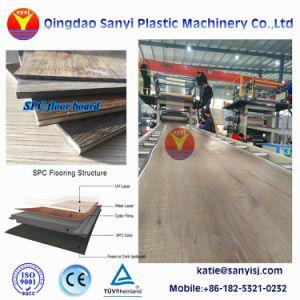 Macchina di pietra rigida della plastica della pavimentazione di Rvp delle mattonelle della plancia del pavimento di Spc
