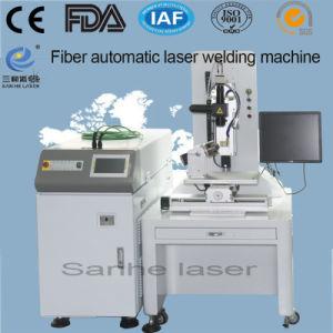 saldatrice automatica del laser della fibra 400W per i pezzi di precisione del metallo