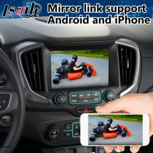 Sistema di percorso di GPS dell'automobile del Android 6.0 per il terreno di Gmc Mirrorlink 2014-2018
