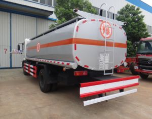 DongfengテンシンEuro3新しい4X2 190HP 10ton 12cbmの重油のタンク車12000リットル