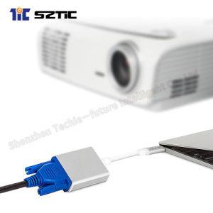 USB 3.1 типа C разъем VGA адаптер женщин каталитического нейтрализатора