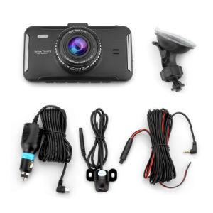 4インチFHD 1080Pの自動カメラの極度の夜間視界の二重カメラGセンサーかループまたはAdasのレコーダー車のカムコーダー