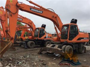 Doosan Dh210W-7 de la excavadora de ruedas/usa barata Dh210W-7/USA Doosan Dh210W-7 de la excavadora de ruedas