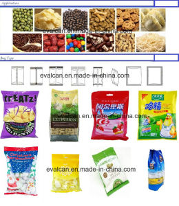 ぽんと鳴らされた食品包装機械自動縦のパッキング機械