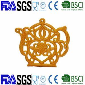 Plástico fumigación Trivet Personalizar la producción de hierro fundido