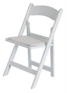 덧대진 수지 접는 의자