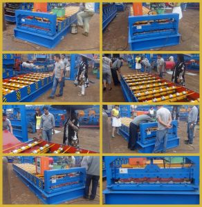 La Chine Fabricant de qualité machine à profiler Dixin tuile de toit