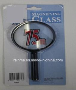 75mm preiswertes Vergrößerungsglas mit Plastikgriff-Vergrößerungsglas