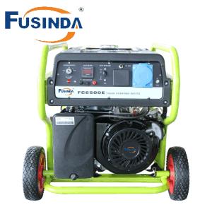 ホームおよび商業ガソリン発電機AC単一フェーズのガソリン発電機5kw/ガソリン発電機