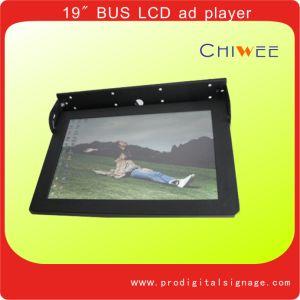 video esposizione dell'affissione a cristalli liquidi 19 per il sottopassaggio del treno del bus, affissione a cristalli liquidi multi Media Player (BM19L05)