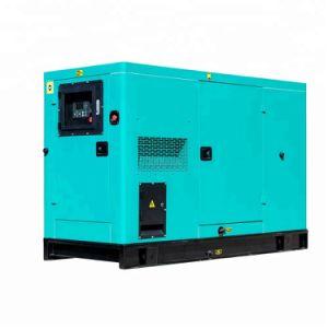 25квт 20квт звукоизолирующие водяного охлаждения дизельного генератора для школьного использования