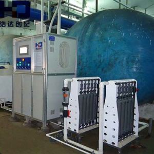 Chemical Dosing Pump를 가진 하수 오물 Treatment Plant Water Treatment Machine