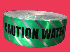 Adviseert de Opspoorbare Band van de Folie van het aluminium voor ondergronds Begraven van de Waarschuwing de Voorzichtigheid van de Pijp