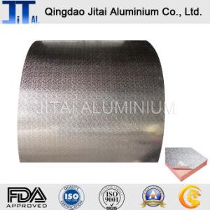 Сплава 8011 алюминиевую фольгу Jumbo Frames рулон тисненая бумага с покрытием из алюминиевой фольги для упаковки продуктов питания
