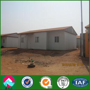 Estructura de acero para construcción de la casa prefabricados