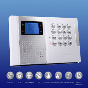 Sistema de alarma inalámbrico con la supervisión, Anti-Tamper, guía de voz (NSS-DG8003)