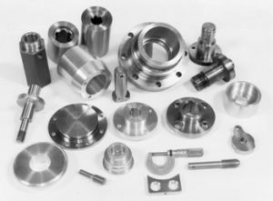 D'USINAGE CNC Parts-Car Parts-Automotive parties (SH-SIG-005)