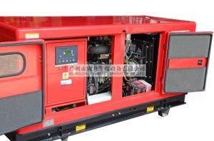 150kVA/120kw silenciosa de diesel do gerador de reboque