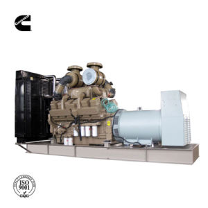 Cummins Engine (SC1100E)の1000kVAディーゼル機関の発電機