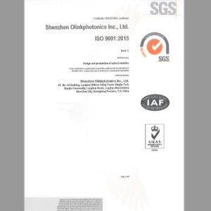 ricetrasmettitore ottico di 10GB/S SFP+ 1470nm-1610nm CWDM 80km