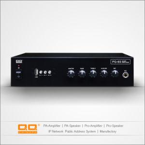 Pg-6s номинальное напряжение усилитель мощности высокой мощности с USB 30W