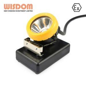 高い照明程度8.8ah LED鉱山の帽子ランプ、手ランプ