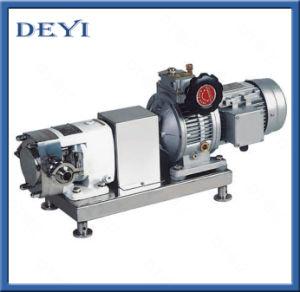 Bossage d'hygiène de la pompe en acier inoxydable sans moteur et le variateur de vitesse
