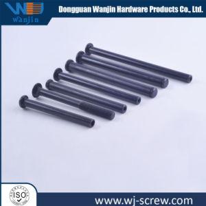 Kundenspezifischer nichtstandardisierter schwarzer Röhrenkohlenstoffstahl-flacher Kopf verlängern Niet