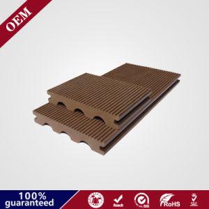 木製の穀物の木製の合成の容易なインストール屋外のPE WPCのデッキのフロアーリング