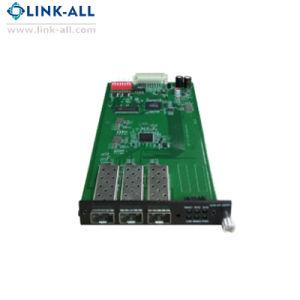 10g Media Converter Rfd 1 port SFP et 1 ports 10GBASE-T Carte réseau du convertisseur de fibre optique