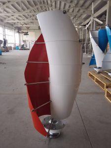 generador de turbina vertical de viento del eje de 400W 12V/24V para el hogar